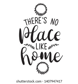 There is no place like home decoration for T-shirt