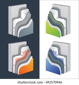 Ilustraciones, imágenes y vectores de stock sobre Thermal Insulation