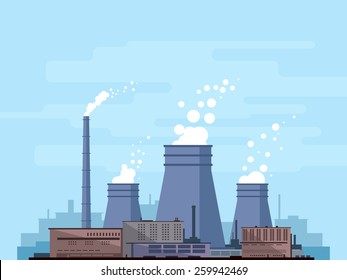 Manufactory industry mobile power plants