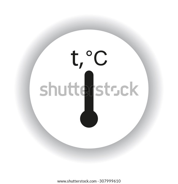 Thermometer. icon. vector design