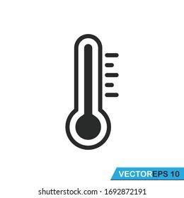 thermometer icon vector design illustration