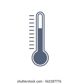 Thermometer Icon Vector flat design style