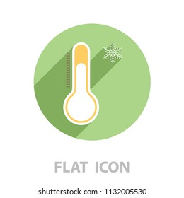 Thermometer icon , vector illustration