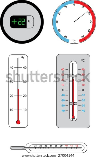 thermometers | vector