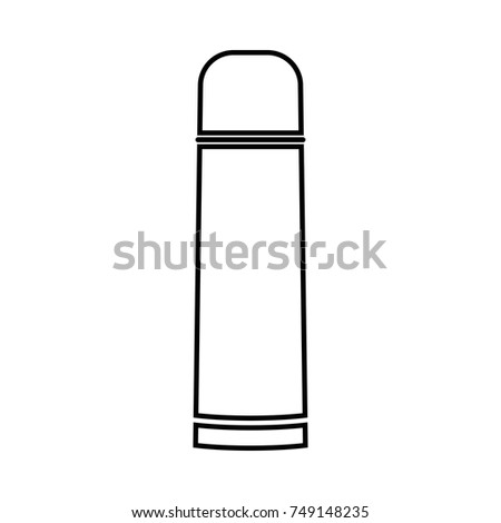 Thermos Vacuum Flask Black Icon Stock Vector (Royalty Free ... on a schematic drawing, circuit diagram, simple schematic diagram, layout diagram, a schematic circuit, as is to be diagram, ic schematic diagram, ups battery diagram, template diagram,