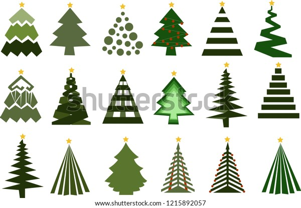 Christmas Tree Vector Free.These Christmas Tree Vectors Illustration Designs Stock