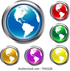 These are Earth Buttons in assorted Colors.