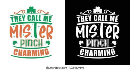 They Call Me Mister Pinch Charming Printable Vector Illustration