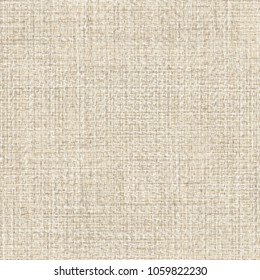 Thick jute fabric texture. Sackcloth background. Abstract vector.