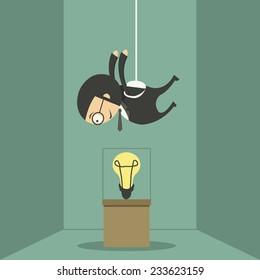 Thieves steal ideas, business idea