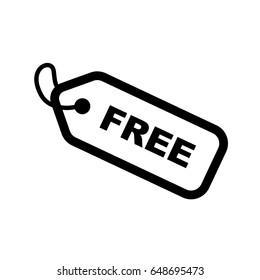 Thin line free icon