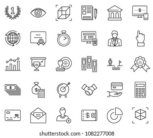 Creative Workshop Line Icon Set Stock Vector Royalty Free