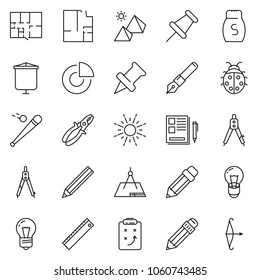 thin line icon set circle chart stock vector royalty free Order of Draw Phlebotomist thin line icon set circle chart vector notes strategy pencil ink