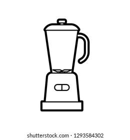Thin Line Juicer Icon