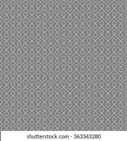Thin linear seamless patern background. White and gray colors.