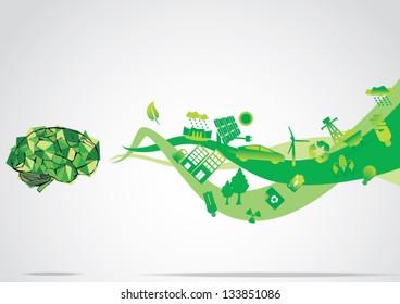 Think Green eco Brain