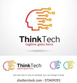 Think Tech Logo Design Template