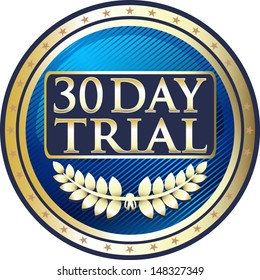 Thirty Day Trial Blue Medal