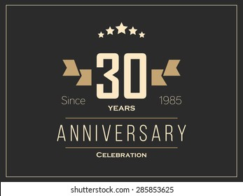 30th anniversary logo images stock photos & vectors shutterstock