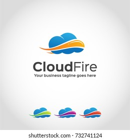 This is a cloud logo.Used for many purposes and Unique style of logo.