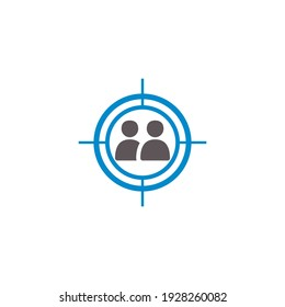 this is creative target icon design
