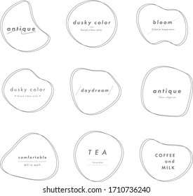 this is decoration template of shape. its flat and simple design.