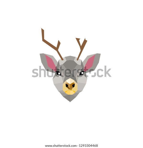 This Design Low Poly Animals That Stock Vector (Royalty Free