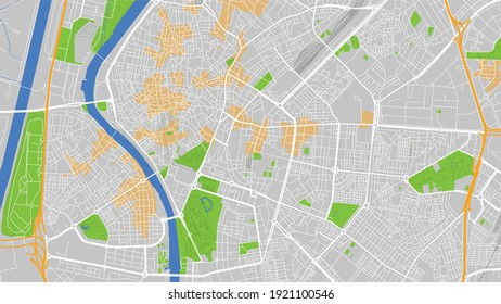 This is a digital map city. It is Sevilla