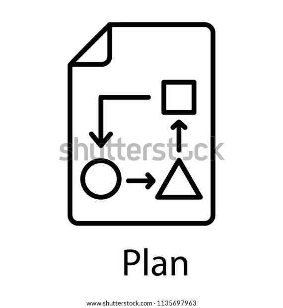 This Flowchart Diagram Represents Algorithm Workflow Stock Vector Royalty Free 1135697963