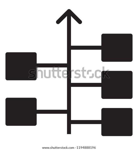This Flowchart Diagram Represents Algorithm Workflow Stock Vector Royalty Free 1194888196