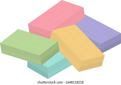 This is an illustration of box tissue.