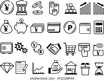 This is an illustration of a money icon.