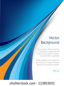 This image represents an abstract brochure background or cover./Brochure Background