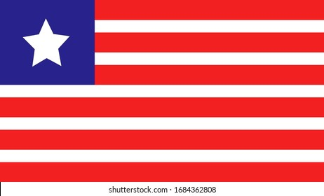This is a Liberia National Flag.