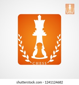 This logo is in the form of a chess. This logo is good to use as a logo of a community or a chess-themed race. This can also be used as an application logo such as gaming applications.