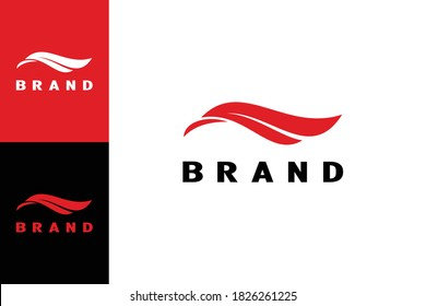 This logo has two side faces. When seen facing left, will be the head of the eagle. If to the right, will be the wing shaped letter F. Creative and unique logo design.