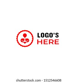 This logo suitable for your company in the health sector and medical centre. Philosophy Red for brave of your company in helping healthy human. Circle for integration, 3 point for social interactions