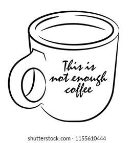 This is not enough coffee