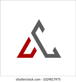 this is a simple, elegant, sophisticated AC logo
