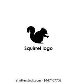 this is a squirrel logo, i like squirrels, he is funny and agile