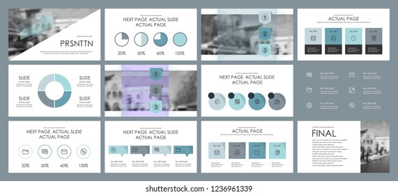 This template is the best as a business presentation, used in marketing and advertising, flyer and banner, the annual report. Grey, multicolored, burgundy and black elements on a dark grey background