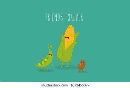 Funny Peas Images, Stock Photos & Vectors | Shutterstock