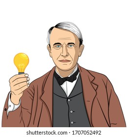 Thomas Alva Edison was an American inventor and businessman who has been described as America's greatest inventor