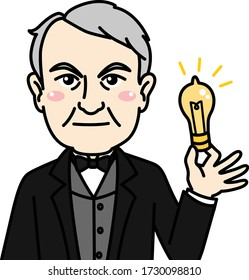 Thomas Alva Edison, He developed many devices in fields such as electric power generation, mass communication, sound recording, and motion pictures.