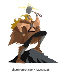 thor norse mythology god of thunder
