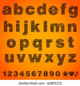 Imagenes Similares Fotos Y Vectores De Stock Sobre Broken Alphabet