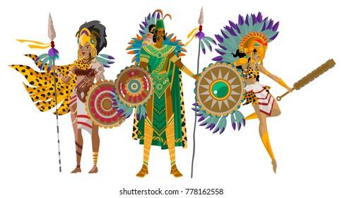 aztec warrior images stock photos vectors shutterstock