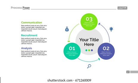 Three Circles Cycle Slide Template