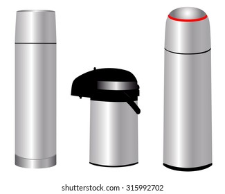 Thermos Flask Images, Stock Photos & Vectors | Shutterstock