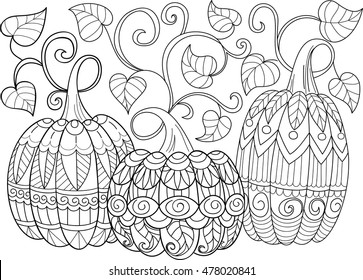 Free Pumpkin Coloring Pages To Print Free, Download Free Clip Art ... | 280x363